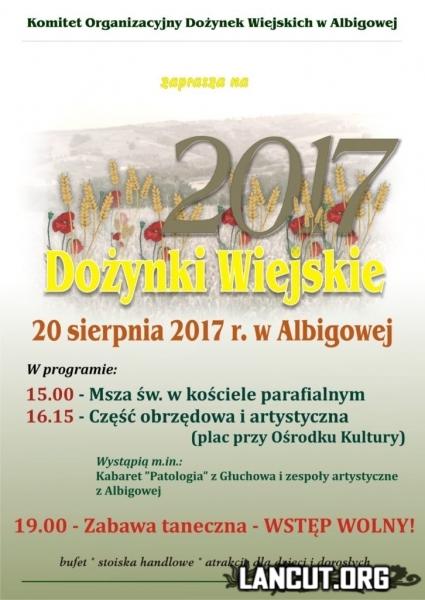afisz_dozynki_albigowa_2017_a3m-726x1024